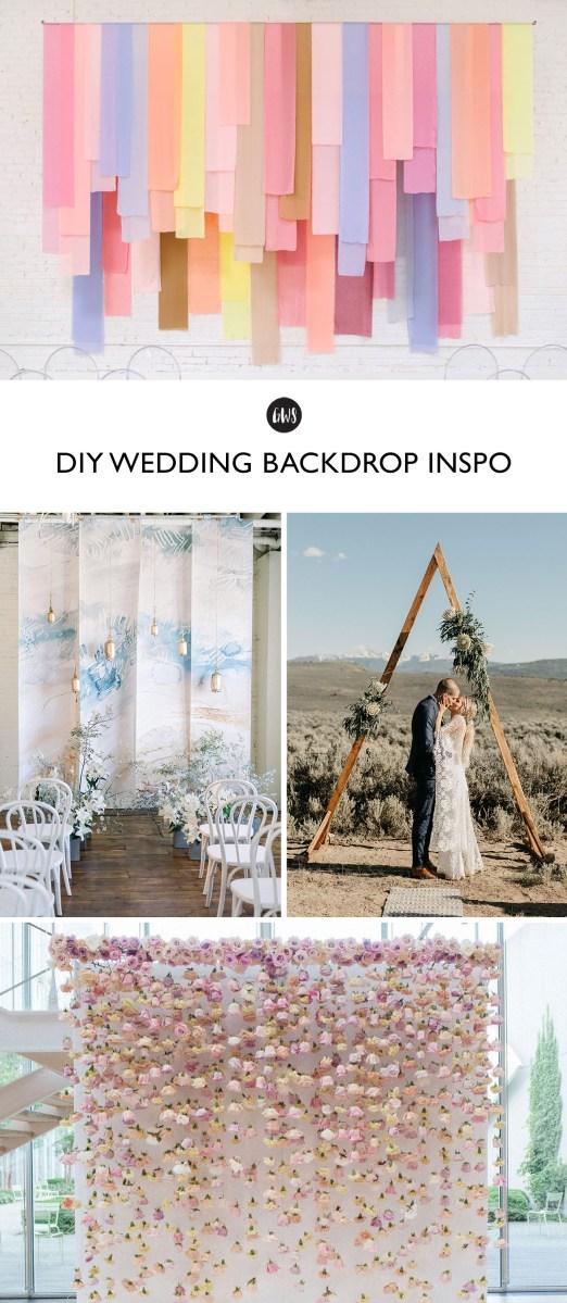 Diy Wedding Backdrop Diy I Do Ers You Could Totally Make These Wedding Backdrops