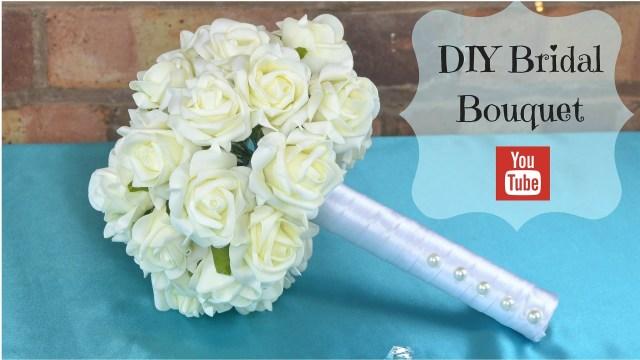 Diy Wedding Bouquet Diy Bridal Bouquet How To Create Your Own Bridal Wedding Flowers