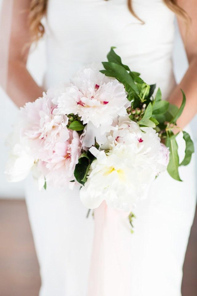 Diy Wedding Bouquet Diy Peony Wedding Bouquet Tutorial Whitney Blake
