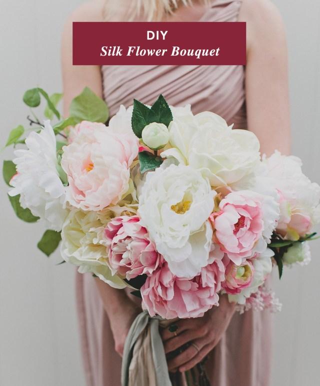 Diy Wedding Bouquet Diy Wedding Bouquet With Fake Flowers Flowerssallyann