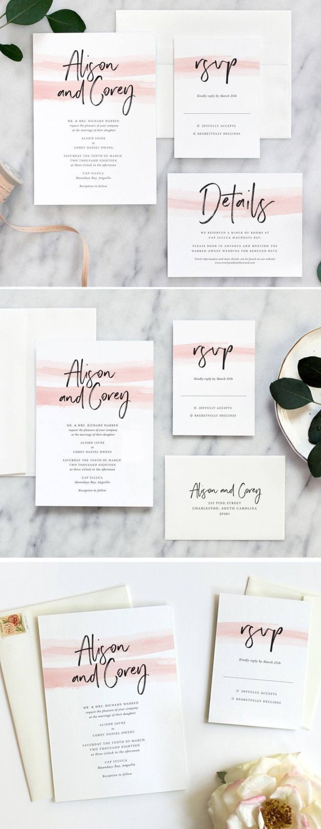 Diy Wedding Invitation Ideas Diy Wedding Invitations Hitchedcouk