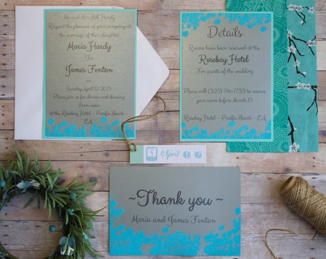 Diy Wedding Invitation Ideas Easy Diy Wedding Invitations