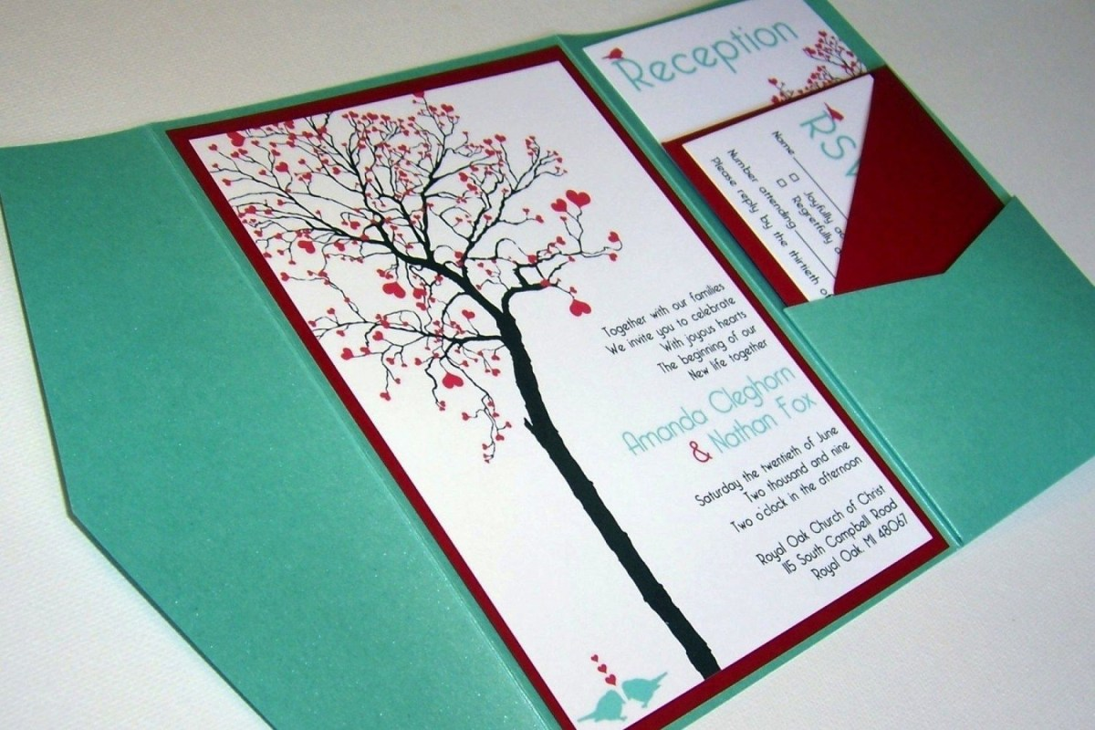 35+ Wonderful Image of Diy Wedding Invitations Ideas