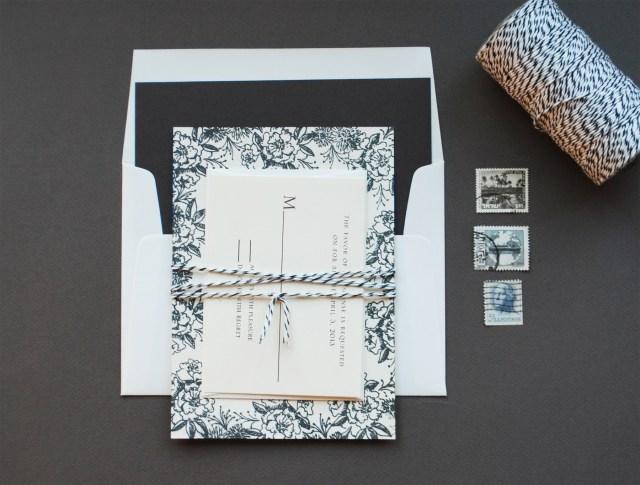 Diy Wedding Invitations Ideas Diy Rubber Stamp Floral Wedding Invitations