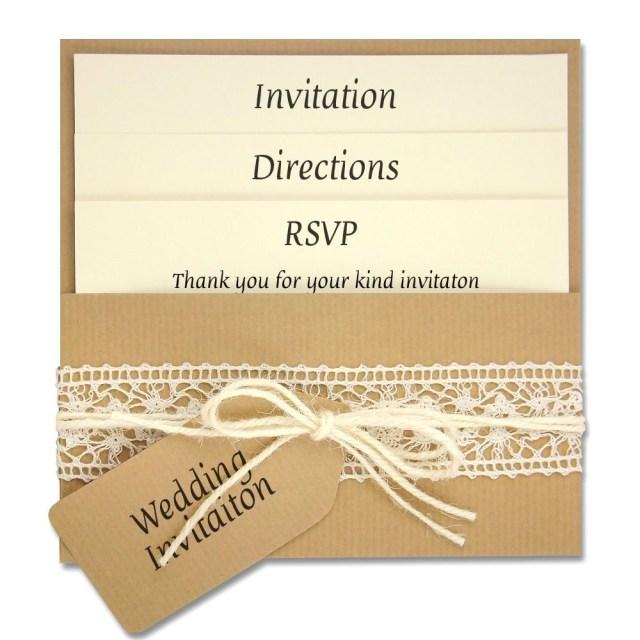 Diy Wedding Invitations Ideas Diy Wedding Invitations Diy Lace Wedding Invitations Free For Your