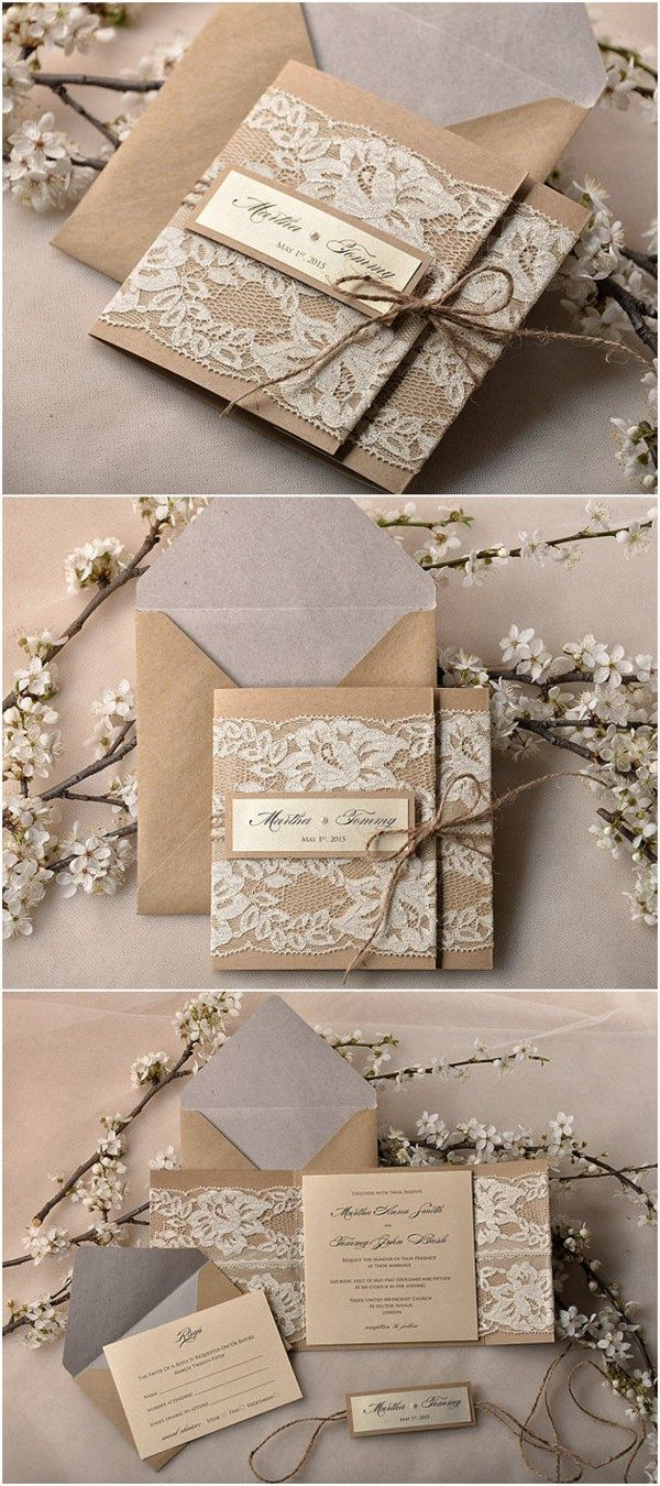 Diy Wedding Invitations Kits 30 Our Absolutely Favorite Rustic Wedding Invitations Michelles