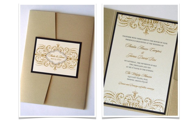 Diy Wedding Invitations Kits Diy Wedding Invitation Kits Pocket Folds Invitation Card Design