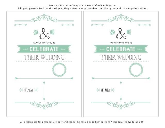 Diy Wedding Invitations Templates Diy Wedding Invitations Templates Wedding Dress Gallery