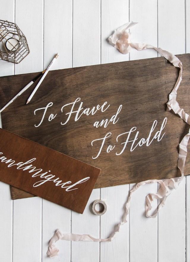 Diy Wedding Signs Diy Wooden Wedding Signs Wishwishwish