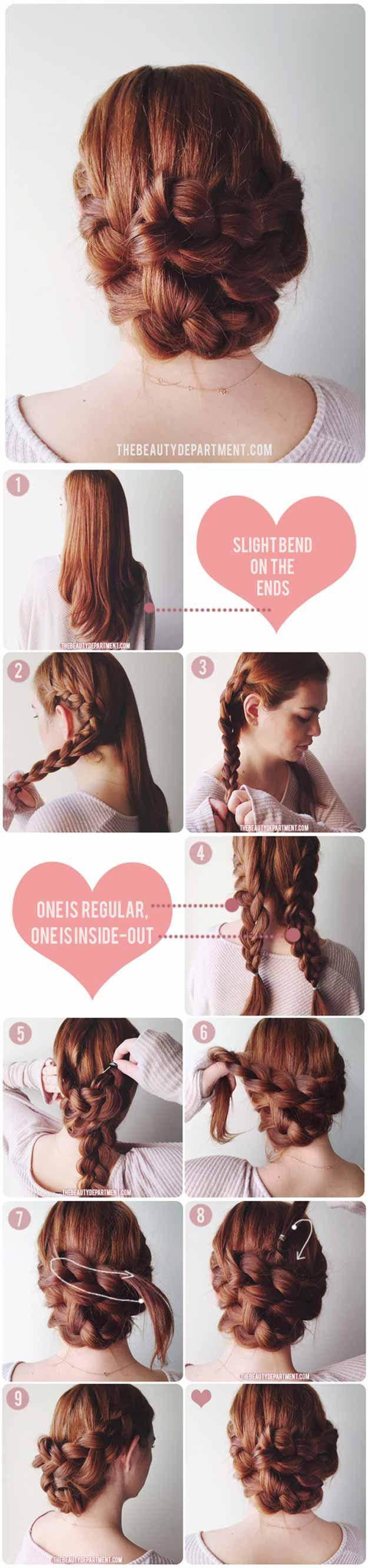 Diy Wedding Updos 31 Wedding Hairstyles For Long Hair The Goddess