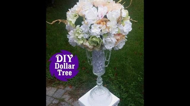 Diy Wedding Vases Diy Dollar Tree L Wedding Reception Table Centerpiece L Tall Flower