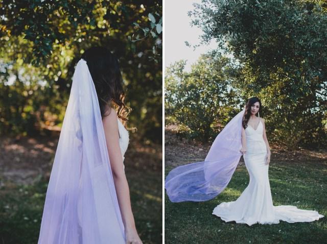Diy Wedding Veil Diy Your Own Ultra Violet Veil Green Wedding Shoes