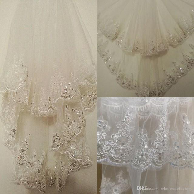 Diy Wedding Veil Stock Short Wedding Veil With Comb 15 Meters Bridal Veil With