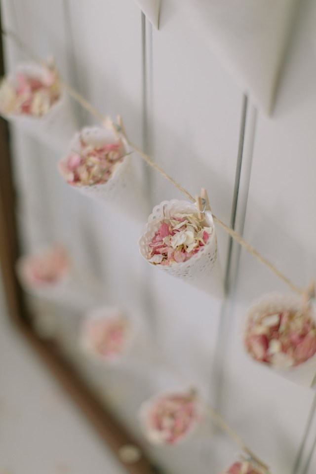 Doilie Wedding Decor Confetti Cone Station Make Your Own For Under 25
