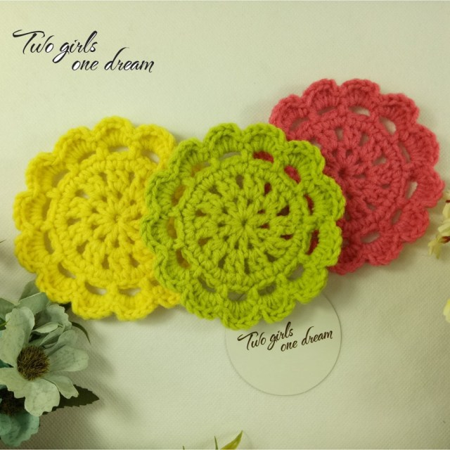 Doilie Wedding Decor Original Diy Colors 95cm Round Coaster Hand Crochet Doilies Wedding