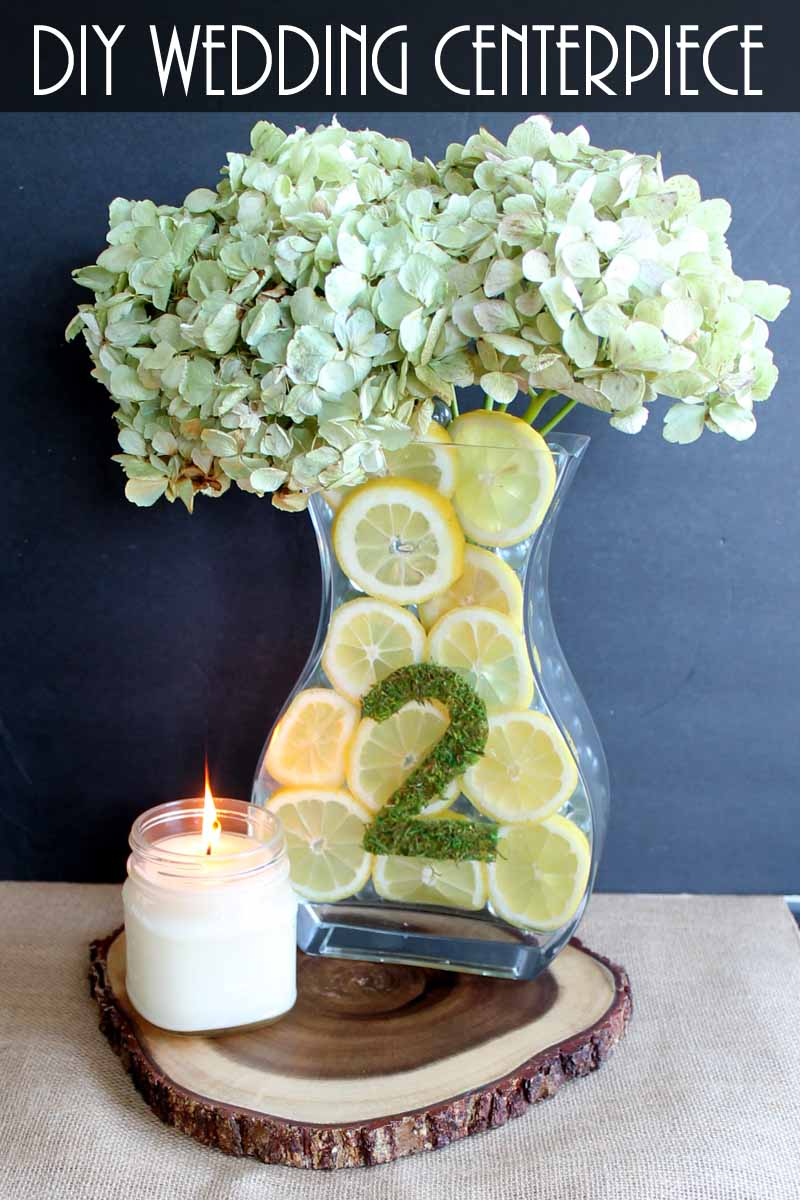 Easy Diy Wedding Decorations Simple Wedding Centerpieces With Lemons The Country Chic Cottage