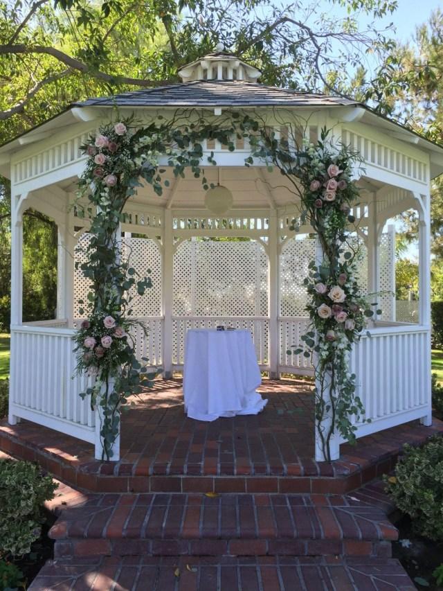 Easy Diy Wedding Decorations Wedding Decoration Diy Wedding Gazebo Decorations Outdooring