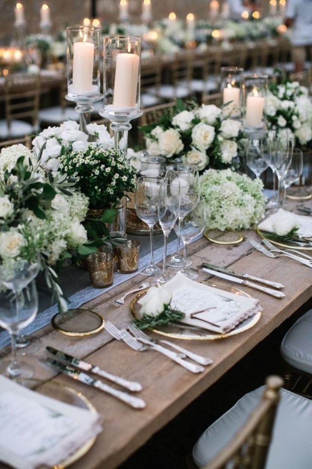Elegant Wedding Ideas 46 Ideas For Elegant Wedding Table Settings Weddingdecorationstk