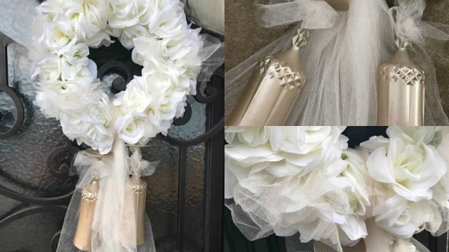 Elegant Wedding Ideas Elegant Wedding Wreath Dollar Tree Wedding Diy Wedding Ideas
