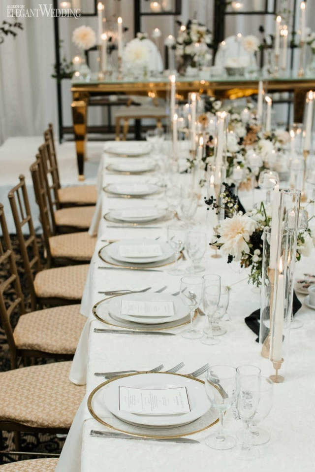 Elegant Wedding Ideas Modern Black And White Wedding Elegantweddingca