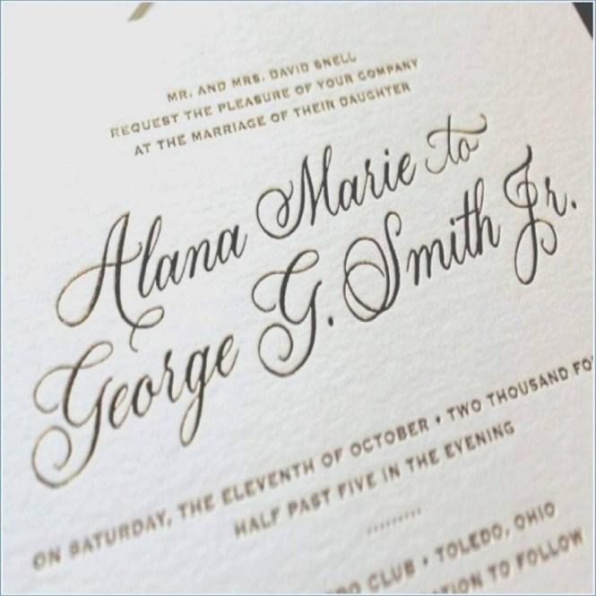 Emily Post Wedding Invitation 206458 Addressing