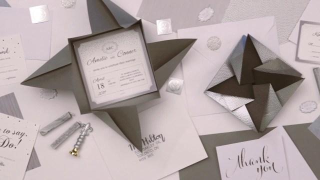 Envelopes For Wedding Invitations Diy Origami Envelopes For Your Wedding Youtube