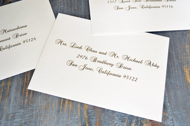 Envelopes For Wedding Invitations How To Address Wedding Invitation Envelopes Paper Lace