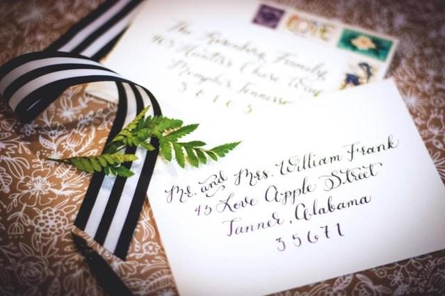 Envelopes For Wedding Invitations How To Address Wedding Invitations Unveiled Zola