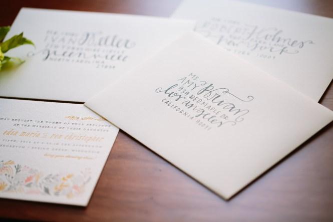 Etiquette For Wedding Invitations Diy Envelope