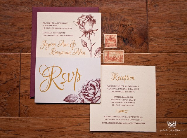 Fairytale Wedding Invitations Fairytale Wedding Invitations On Behance