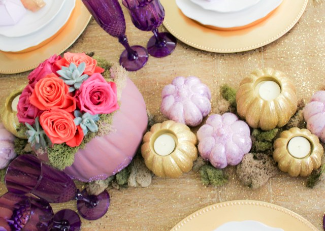 Fall Wedding Decoration Ideas Purple And Gold Fall Fantasy Wedding Fun365
