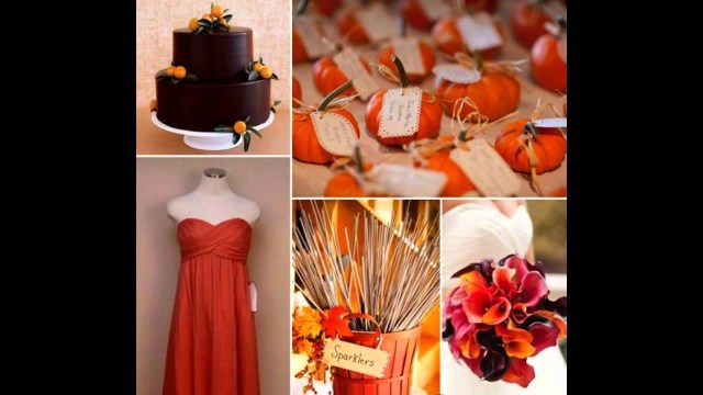 Fall Wedding Decorations Fall Wedding Decorations Ideas On A Budget Youtube