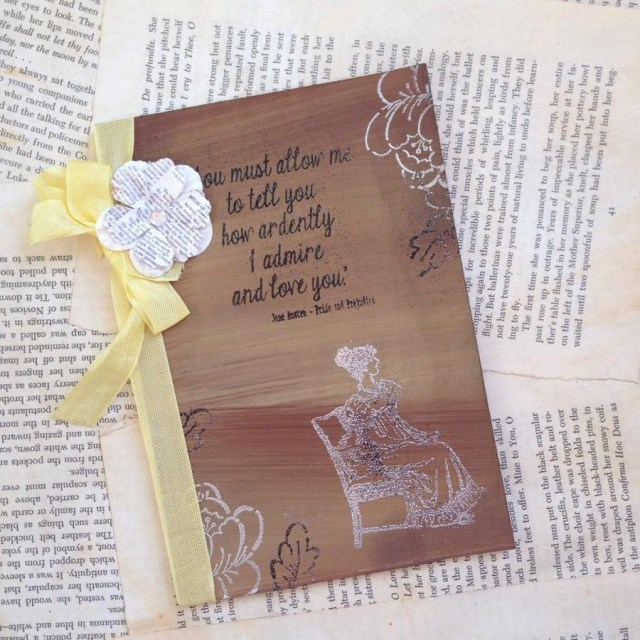 Fall Wedding Invitation Rustic Fall Wedding Invitation Jane Austen Invitation Vintage