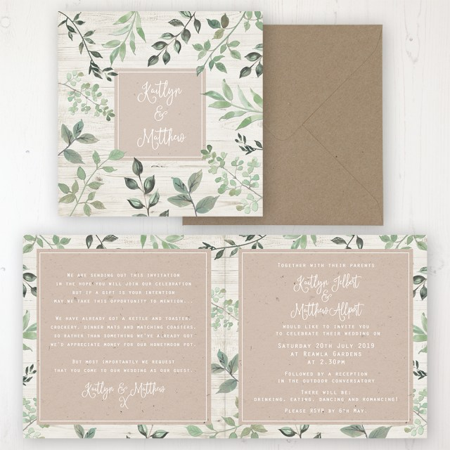 Forest Wedding Invitations Evergreen Forest Wedding Invitations Sarah Wants Stationery