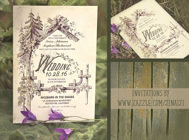Forest Wedding Invitations Rustic Barn Wedding Invitations Need Wedding Idea