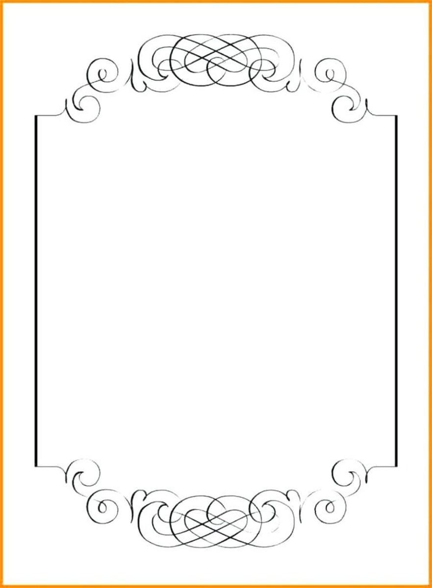 Free Printable Wedding Invitation Templates For Word 20 Free