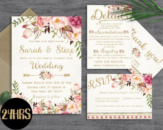 Free Printable Wedding Invitation Templates For Word Printable Wedding Invitation Templates Free Printable Wedding