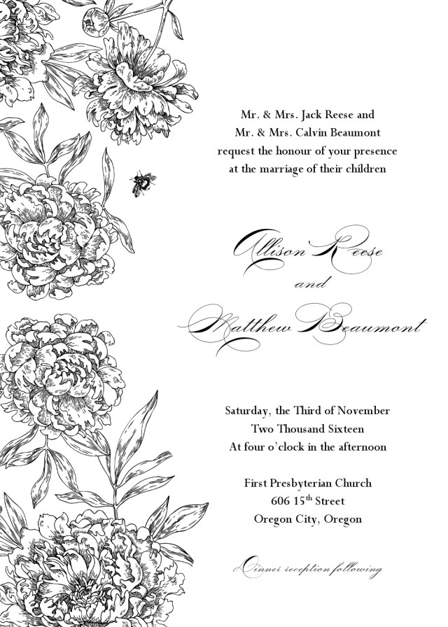 Free Wedding Invitation Templates For Word 28 Images Of Clip Art Black And Silver Wedding Invitation Template