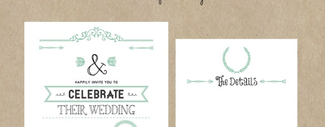 Free Wedding Invitations Free Printable Wedding Invitation Template All Things Wedding