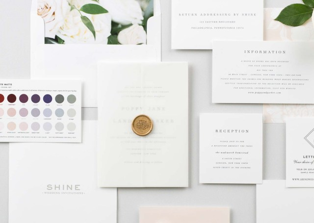 Free Wedding Invitations Shine Wedding Invitations Luxury Wedding Invitations For Modern