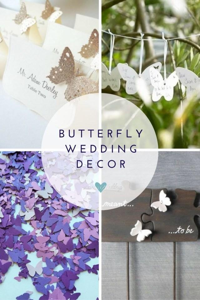 Fun Wedding Decor Butterfly Wedding Ideas That Will Make Your Heart Skip A Beat