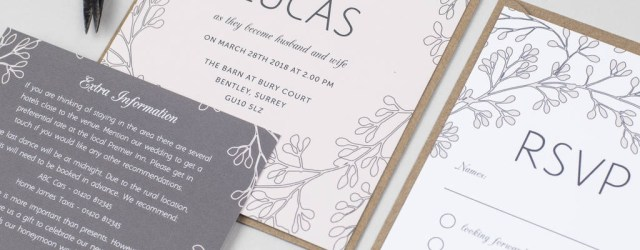 Garden Wedding Invitations Secret Garden Wedding Invitation Pear Paper Co