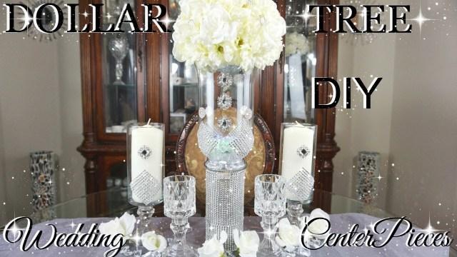 Glamorous Wedding Decorations Diy Dollar Tree Glamorous Wedding Centerpieces With Totally Dazzled