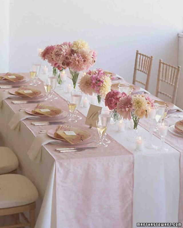 Glamourous Wedding Decor Glamorous And Glinty Pinks Pastel Wedding Decoration Ideas