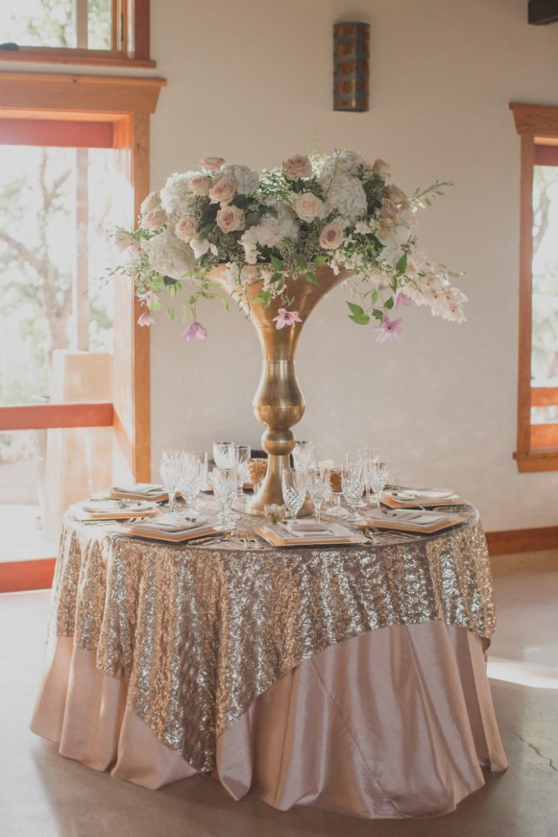 Gold Wedding Decor 20 Rose Gold Wedding Ideas For The Hopeless Romantic Weddingwire