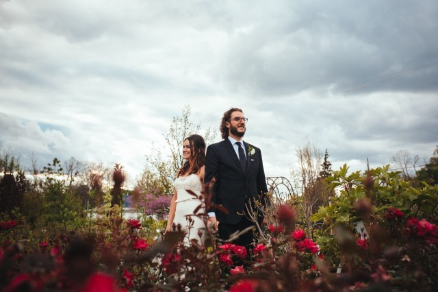 Goldner Walsh Wedding A Wedding At Goldner Walsh Garden And Home Liz Eric Rosy And