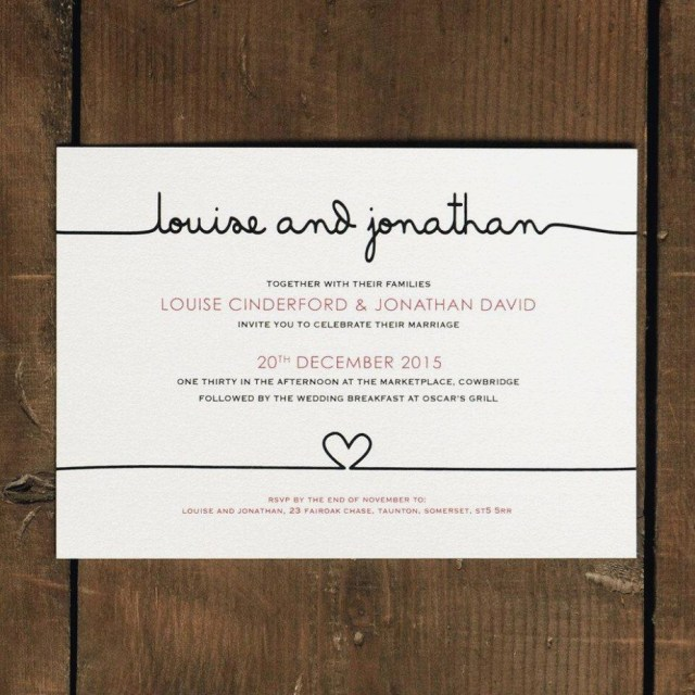 Handwritten Wedding Invitations 20 Handwritten Wedding Invitations Wedding Invitation Ideas