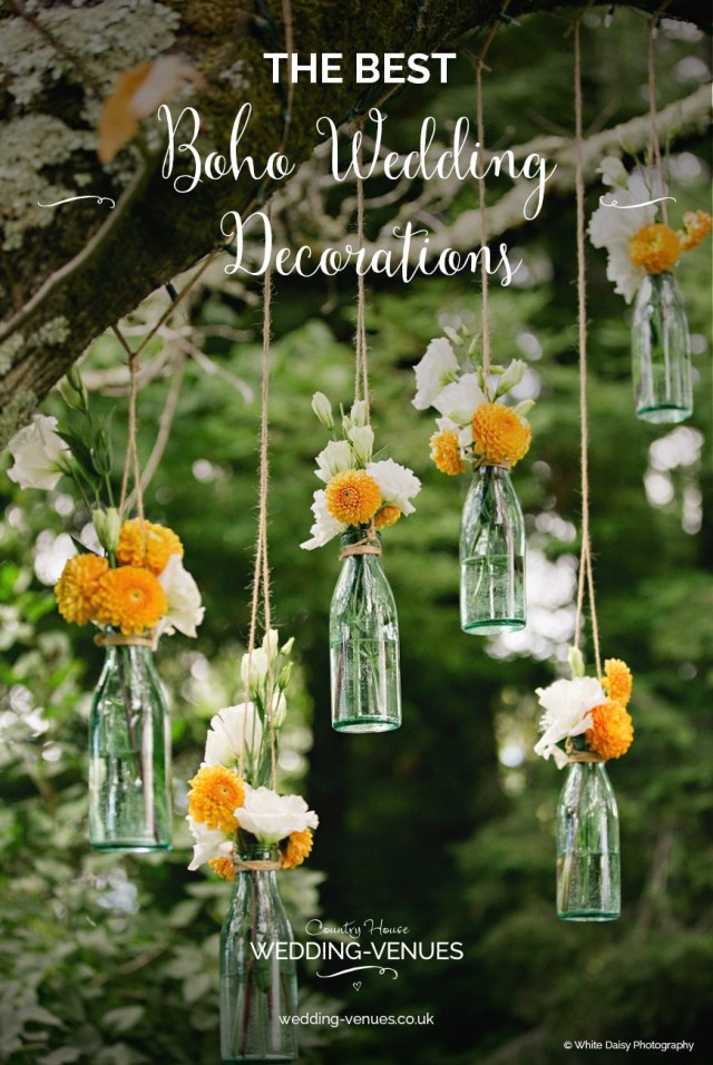 House Wedding Decorations The Best Boho Wedding Decorations Chwv