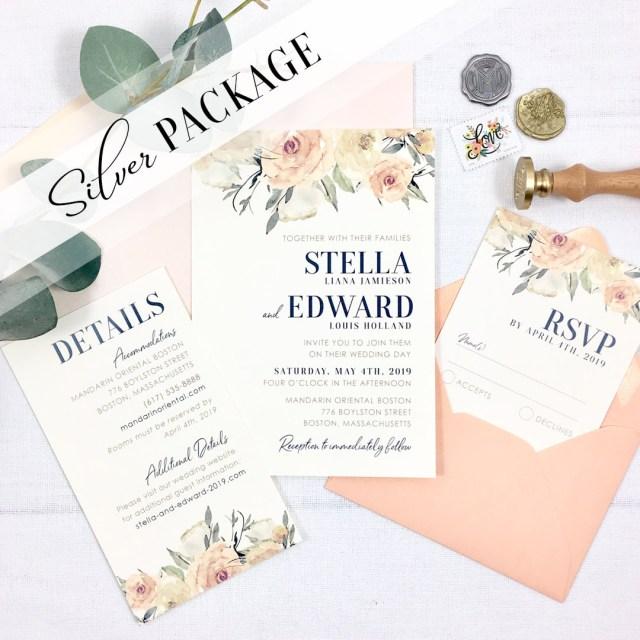Invitation To Our Wedding Inspiration I Do Custom Invitation Design For Weddings Events
