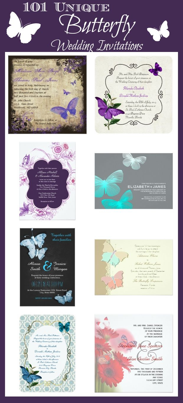 Invitations For Wedding 101 Unique Butterfly Wedding Invitations For The Perfect Butterfly